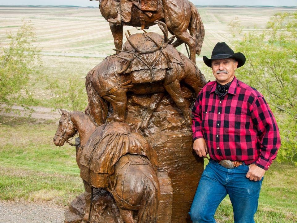 About Ken Mayernik Montana Artist western and wildlife bronze sculptor
